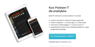Kurs Podstaw IT dla analityków analiza it product vision